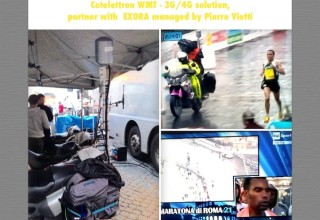 3G/4G live with Cotelettron WMT Solutions from Rome Marathon with EXORA managed by Pierre Vietti March 2015