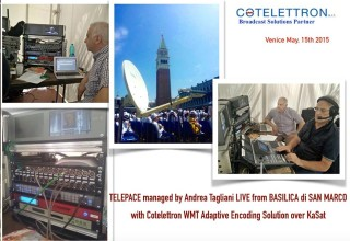 Cotelettron WMT Adaptive Encoding Solution over KaSat
