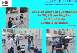 3G/4G Live from Ansbach (Germany), with PlayRec managed by Carmelo Micalizzi July2016