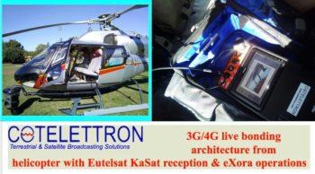 3G/4G KaSat bonding architecture